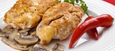 Spiedini di pollo … alla formaggella